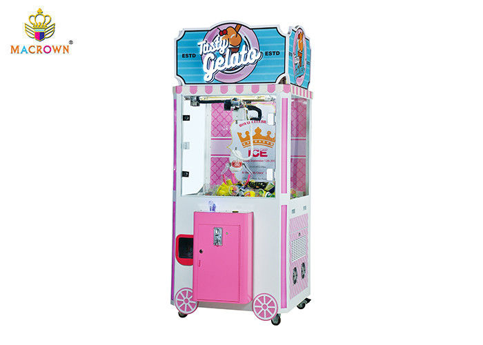 2019 New Ice Cream Vending Machine For Sale Candy Crane Machine With -25 degree